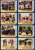 "Movie Posters:Rock and Roll, A Hard Day's Night (United Artists, 1964). CGC Graded Lobby CardSet of 8 (11"" X 14"").. ... (Total: 8 Items)"