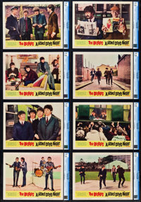 "A Hard Day's Night (United Artists, 1964). CGC Graded Lobby Card Set of 8 (11"" X 14""). ... (Total: 8 Items)"