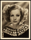 "Movie Posters:Miscellaneous, Greta Garbo in Inspiration by Clarence Sinclair Bull (MGM, 1931).Portrait Photo (11"" X 14"").. ..."