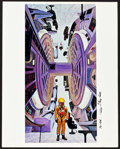 "Movie Posters:Science Fiction, 2001: A Space Odyssey (MGM, 1968). Jumbo Color Photos (3) andAutographed Jumbo Color Photo (1) (16"" X 20"").. ... (Total: 4Items)"
