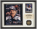 Miscellaneous Collectibles:General, Dale Earnhardt Signed Card Display....