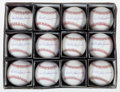 Baseball Collectibles:Balls, Donald William Zimmer Single Signed Baseballs Lot of 12....