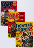 Golden Age (1938-1955):Miscellaneous, Harvey War Related File Copy Group (Harvey, 1950s-60s) Condition: Average VF.... (Total: 39 Comic Books)