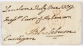 "Autographs:Non-American, [Charge of the Light Brigade]. James Brudenell, 7th Earl ofCardigan, Autograph Document Signed. 5.5"" x 3"", London, July 1, ..."