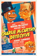 """Movie Posters:Comedy, Charlie McCarthy, Detective (Universal, 1939). One Sheet (27"""" X41"""") Style B.. ..."""