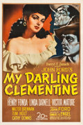 "Movie Posters:Western, My Darling Clementine (20th Century Fox, 1946). One Sheet (27"" X41"").. ..."
