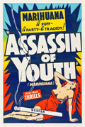 "Movie Posters:Exploitation, Assassin of Youth (Roadshow, 1937). One Sheet (28"" X 42.25"").. ..."