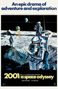"Movie Posters:Science Fiction, 2001: A Space Odyssey (MGM, 1968). One Sheet (27"" X 41"") Style B.. ..."