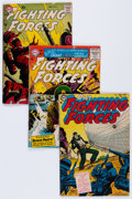 Golden Age (1938-1955):War, Our Fighting Forces Group (DC, 1954-65) Condition: Apparent GD....(Total: 18 Comic Books)