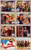 "Movie Posters:Western, 'Neath the Arizona Skies (Monogram, 1934). Lobby Card Set of 8 (11""X 14"").. ... (Total: 8 Items)"