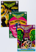 Silver Age (1956-1969):Horror, Unexpected Group (DC, 1968-69) Condition: Average ApparentFN/VF.... (Total: 10 Comic Books)