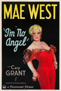 "Movie Posters:Comedy, I'm No Angel (Paramount, 1933). One Sheet (27.5"" X 41"") Style A....."