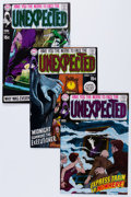 Bronze Age (1970-1979):Horror, Unexpected Group (DC, 1970-71) Condition: Average VF.... (Total: 11Comic Books)