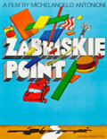 """Movie Posters:Drama, Zabriskie Point (MGM, 1970). Special Full-Bleed Poster (21.5"""" X28"""").. ..."""