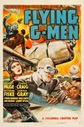 "Movie Posters:Serial, Flying G-Men (Columbia, 1939). Stock One Sheet (27.5"" X 41"").. ..."