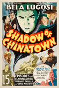 "Movie Posters:Serial, Shadow of Chinatown (Victory, 1936). Stock One Sheet (27.5"" X41"").. ..."