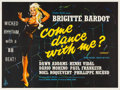 "Movie Posters:Foreign, Come Dance With Me! (Columbia, 1959). British Quad (30"" X 40"").. ..."