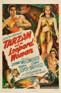 "Movie Posters:Adventure, Tarzan and the Leopard Woman (RKO, 1946). One Sheet (27"" X 41"")....."