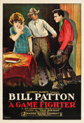 "Movie Posters:Western, A Game Fighter (Madoc Sales, 1924). One Sheet (28"" X 41"").. ..."