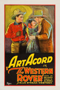 "Movie Posters:Western, The Western Rover (Universal, 1927). One Sheet (27.25"" X 40.75"")....."