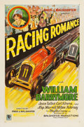 "Movie Posters:Action, Racing Romance (Balshofer Productions, 1927). One Sheet (27"" X 41.25"").. ..."