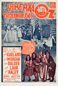 """Movie Posters:Fantasy, The Wizard of Oz (MGM, 1943). First Release Finnish Poster (15.75""""X 23"""").. ..."""
