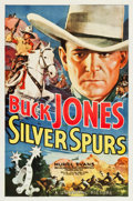 "Movie Posters:Western, Silver Spurs (Universal, 1936). One Sheet (27"" X 41"").. ..."