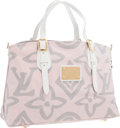 "Luxury Accessories:Bags, Louis Vuitton Pink Monogram Canvas Tote Bag. ExcellentCondition. 16"" Width x 10.5"" Height x 6"" Depth. ..."