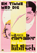 "Movie Posters:Comedy, One Hour with You (Paramount, 1932). Swedish One Sheet (27.5"" X39.5"").. ..."