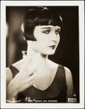 """Movie Posters:Drama, Louise Brooks in Diary of a Lost Girl (Favorite Film, 1929). German Lobby Card (8"""" X 10. 5"""", Mounted 9.5"""" X 12"""").. ..."""