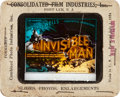 "Movie Posters:Horror, The Invisible Man (Universal, 1933). Glass Slide (3.25"" X 4"").. ..."