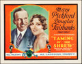 """Movie Posters:Comedy, Taming of the Shrew (United Artists, 1929). Title Lobby Card (11"""" X14"""").. ..."""