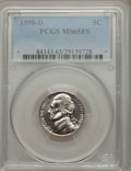 Jefferson Nickels: , 1998-D 5C MS65 Full Steps PCGS. PCGS Population (56/12). Numismedia Wsl. Price for problem free NGC/PCG...