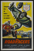 "Movie Posters:Action, RoadRacers (American International, 1959). One Sheet (27"" X 41""). Action...."