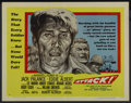 "Movie Posters:War, Attack! (United Artists, 1956). Half Sheet (22"" X 28"") Style A.War. ..."