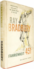 Books:First Editions, Ray Bradbury: Fahrenheit 451 (New York: Ballantine Books,1953), first edition, 199 pages, red cloth with yellow letteri...(Total: 1 Item)