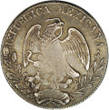 Mexico, Mexico: Republic Cap and Rays 8 Reales 1834 Ca-MR,...