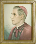 Movie/TV Memorabilia:Autographs and Signed Items, Fulton J. Sheen Signed Portrait. A signed portrait of television'sfirst preacher of note, Fulton J. Sheen. From 1951 to 195...(Total: 1 Item)