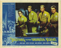 "Movie/TV Memorabilia:Autographs and Signed Items, John Agar Signed Lobby Card. An 11"" x 14"" lobby card for the 1962sci-fi movie Journey to the Seventh Planet, inscribed ...(Total: 1 Item)"