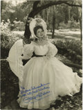 Movie/TV Memorabilia:Autographs and Signed Items, Greer Garson Signed Photo. A b&w photo of Garson in Prideand Prejudice (1940), inscribed and signed by her in blueink.... (Total: 1 Item)