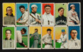 Baseball Cards:Lots, 1909-11 T206 Piedmont/Sweet Caporal Tobacco Card Group (12). ...