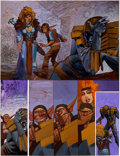 "Original Comic Art:Panel Pages, Simon Bisley 2000 AD #656 Page 29 ""Slaine: The Horned GodBook II"" Original Art (Fleetway Publications, 1989)...."