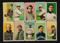 Baseball Cards:Lots, 1909-11 T206 Piedmont Tobacco Card Group (10) With HoFers. ...