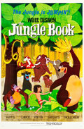 "Movie Posters:Animation, The Jungle Book (Buena Vista, 1967). Flat-Folded One Sheet (27"" X41"").. ..."