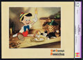 "Movie Posters:Animation, Pinocchio (RKO, 1940). CGC Graded Restored Lobby Card (11"" X 14"").. ..."