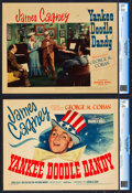 """Movie Posters:Musical, Yankee Doodle Dandy (Warner Brothers, 1942). CGC Graded Title LobbyCard and Lobby Card (11"""" X 14"""").. ... (Total: 2 Items)"""