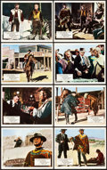 """Movie Posters:Western, For a Few Dollars More (United Artists, 1967). British Front ofHouse Color Photo Set of 8 (8"""" X 10"""").. ... (Total: 8 Items)"""