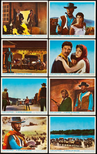 """A Fistful of Dollars (United Artists, 1967). British Front of House Color Photo Set of 8 (8"""" X 10""""). ... (Tota..."""