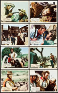 "Movie Posters:Western, The Good, the Bad and the Ugly (United Artists, 1968). BritishFront of House Color Photo Set of 8 (8"" X 10"").. ... (Total: 8Items)"