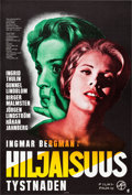 "Movie Posters:Foreign, The Silence (Filmi-Paja, 1965). Finnish Poster (16"" X 23.5"").. ..."